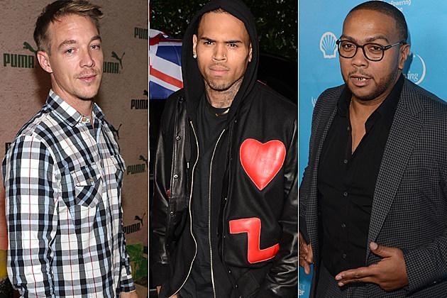 Diplo Chris Brown Timbaland