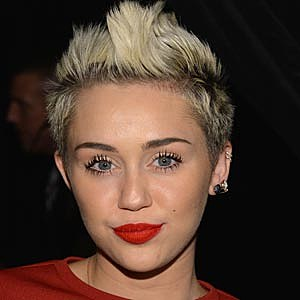 Miley Cyrus Faux Hawk