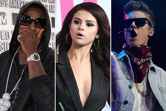 Gucci Mane Selena Gomez Justin Bieber