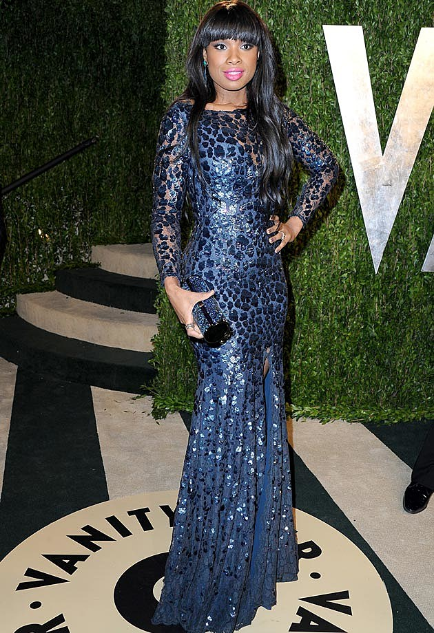 Jennifer Hudson Roberto Cavalli 2013 Vanity Fair Oscar Party