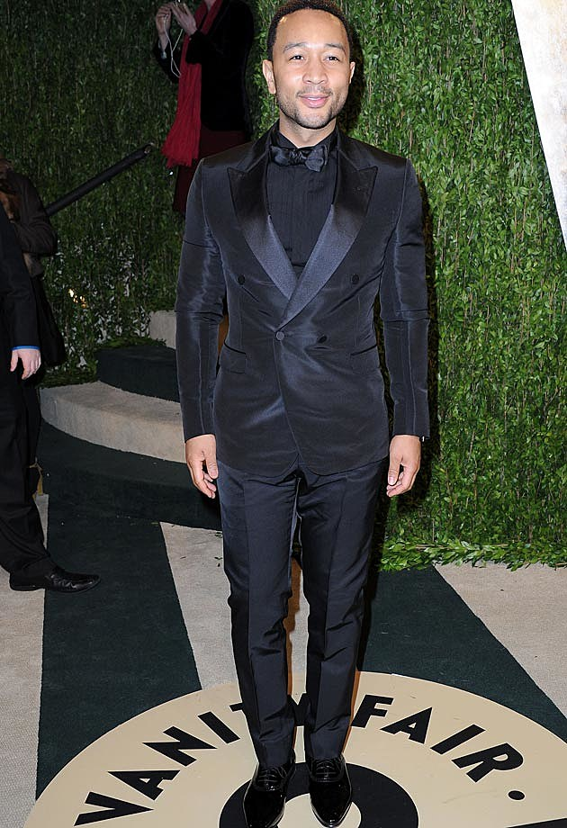 John Legend 2013 Vanity Fair Oscar Party