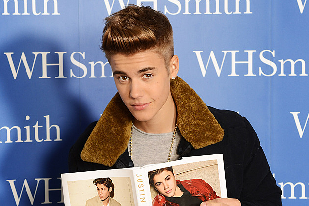 Justin Bieber Just Getting Started Book Launch