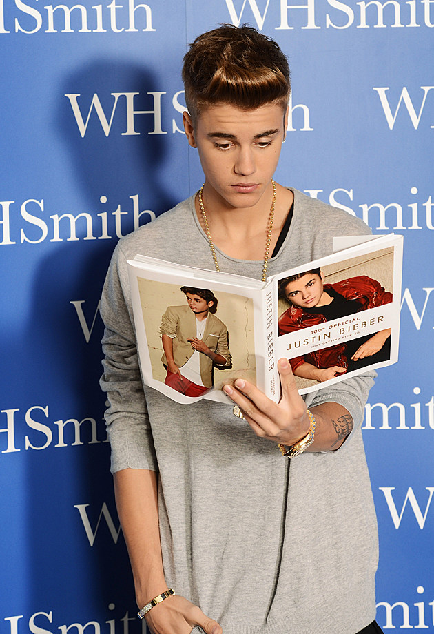 Justin Bieber Just Getting Started Book Launch London