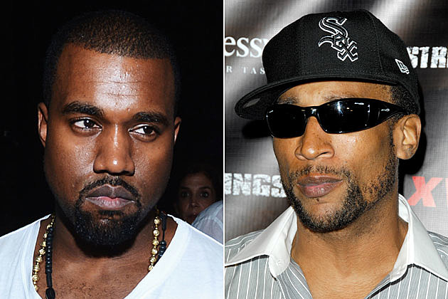 Kanye West and Lord Jamar