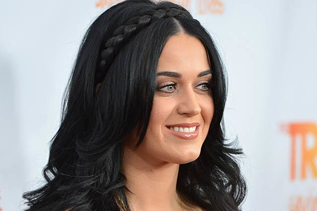 Katy Perry Black Braids