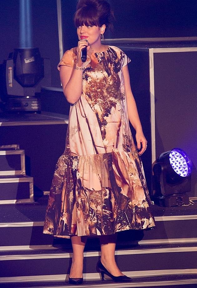 Lily Allen Etam Paris Fashion Show