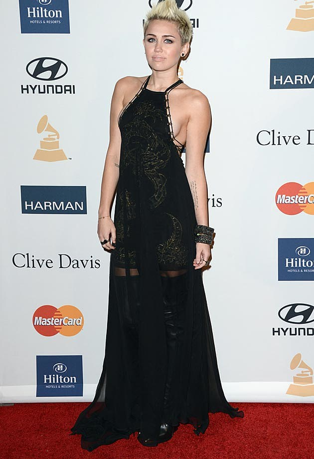 Miley Cyrus Pre-Grammy Party
