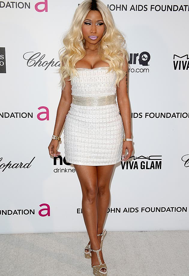 Nicki Minaj Elton John Oscar Party 2013