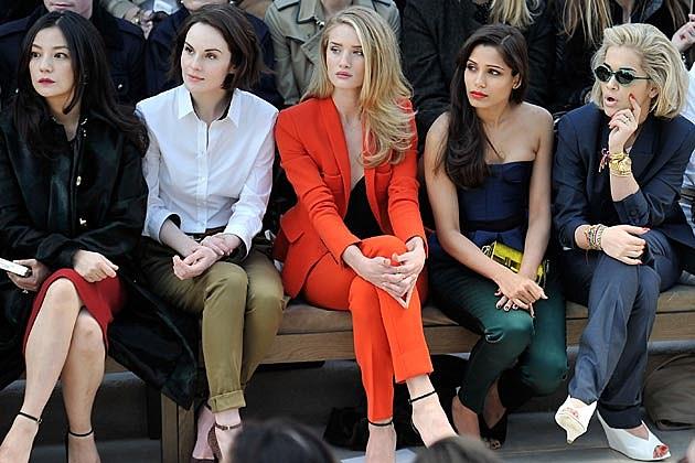 Rita Ora Burberry Porsum London Fashion Week