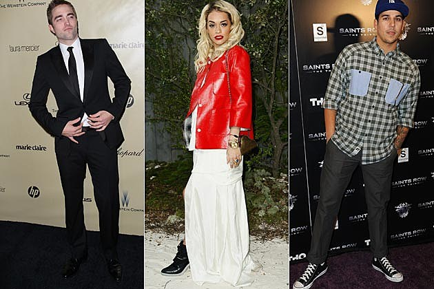 Rob Pattinson Rita Ora Rob Kardashian