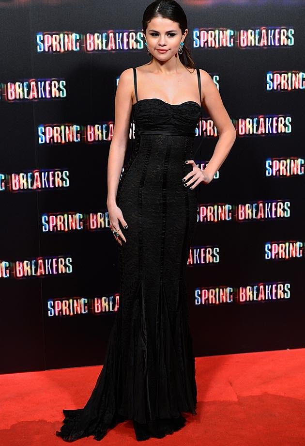Selena Gomez Madrid Spring Breakers Dolce & Gabbana