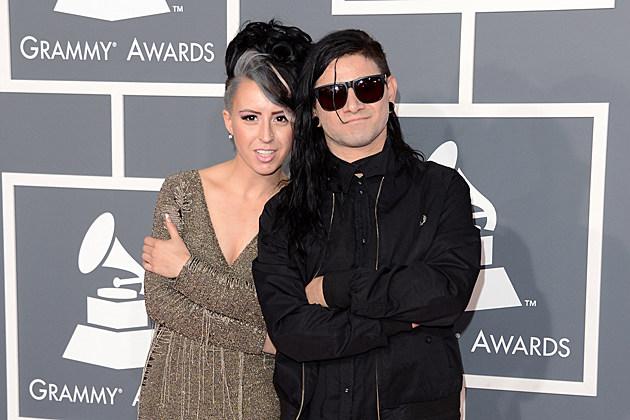 Sirah Skrillex Grammys 2013