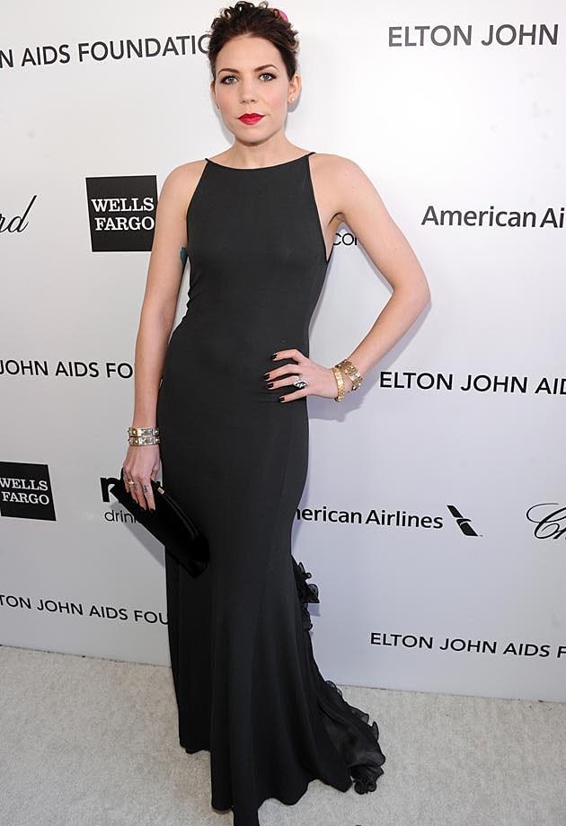 Skylar Grey Giorgio Armani Elton John Oscar Party 2013