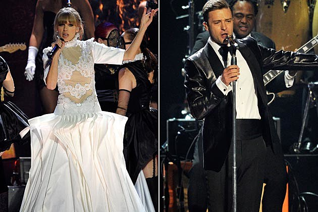 Taylor Swift Justin Timberlake 2013 BRIT Awards