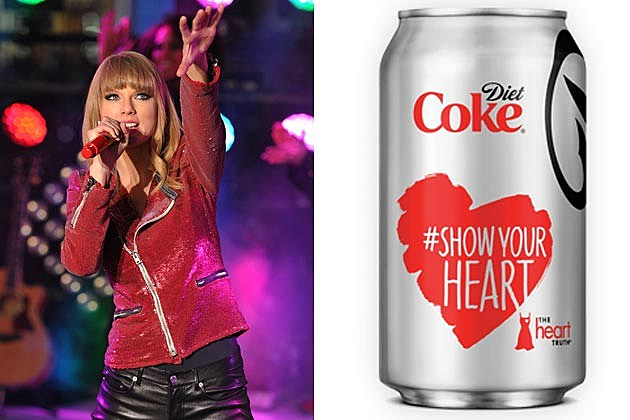 Taylor Swift Diet Coke