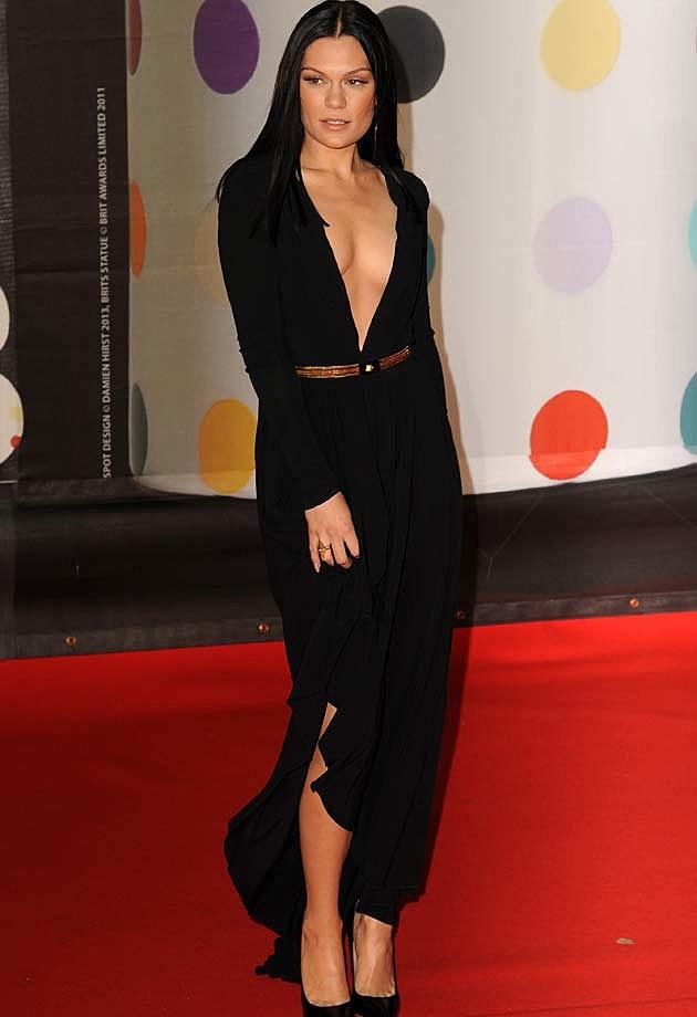 Jessie J Versace 2013 BRITS