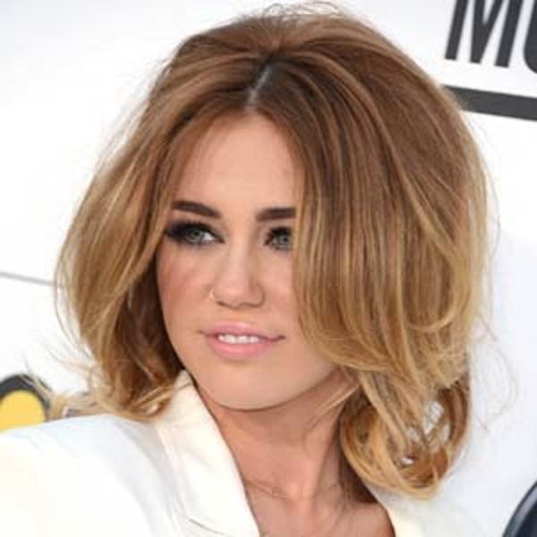 Hairstyles For Short Voluminous Hair : Big + Voluminous  Best Miley Cyrus Hairstyles