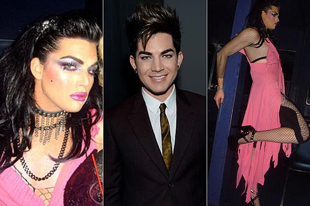Adam Lambert in Drag