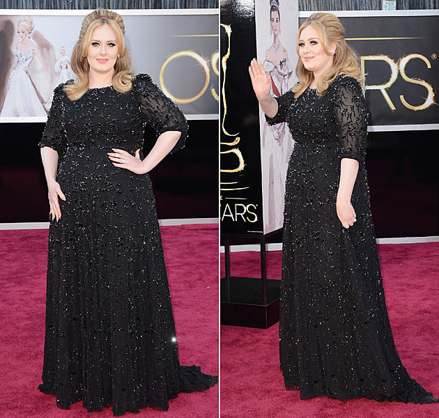 Adele 2013 Oscars