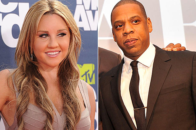 Amanda Bynes Jay-Z