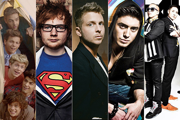 One Direction Ed Sheeran Ryan Tedder Stefano Langone Far East Movement
