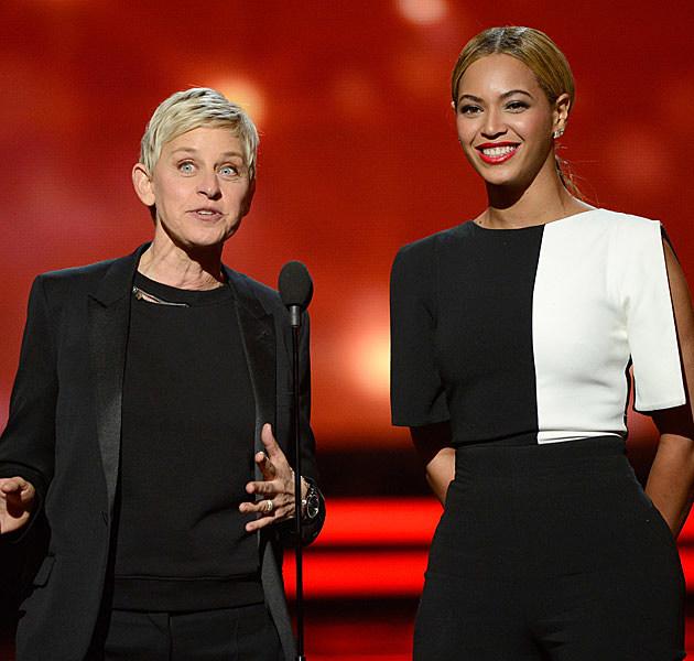 Ellen Degeneres Beyonce