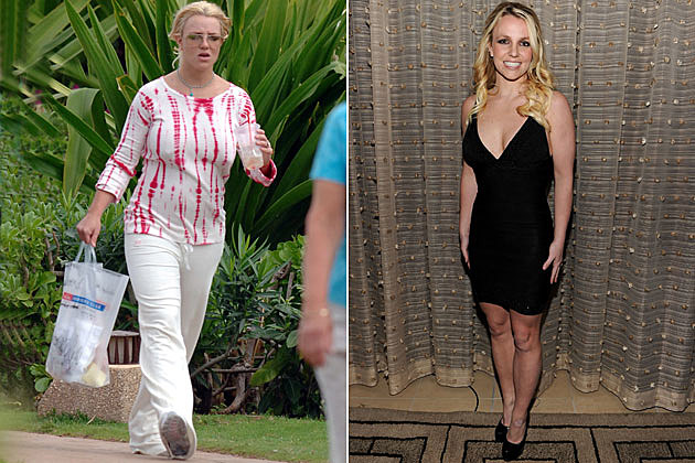 نتيجة بحث الصور عن britney spears before and after weight