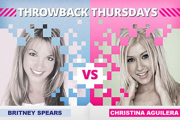 Britney Spears vs. Christina Aguilera - Throwback Thursdays