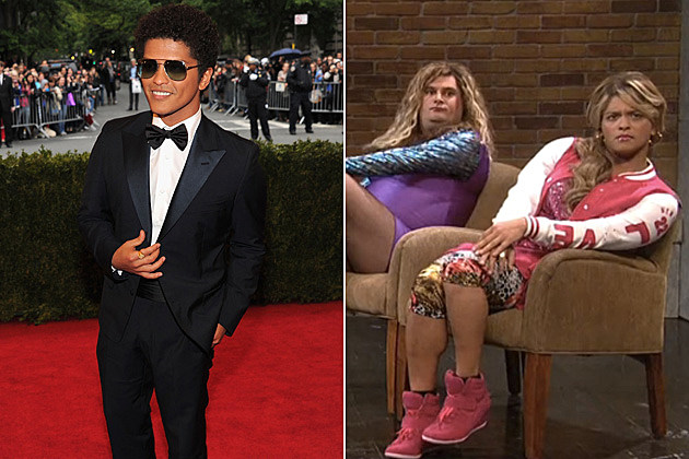 Bruno Mars in Drag