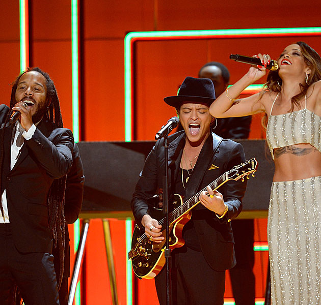 Ziggy Marley Bruno Mars and Rihanna