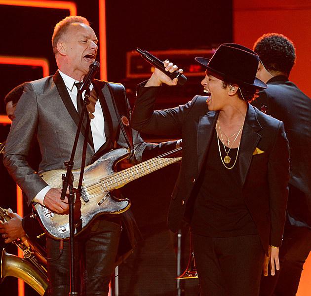 Bruno Mars Sting