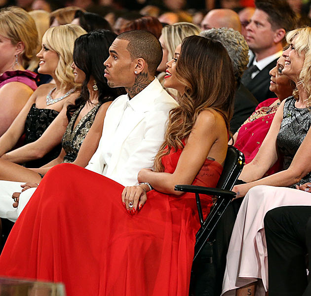 Chris Brown Rihanna Grammys