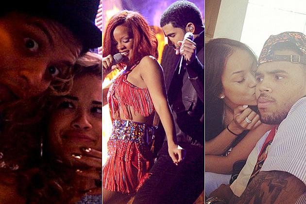 Bruno Mars RIta Ora Rihanna Drake Karreuche Tran Chris Brown