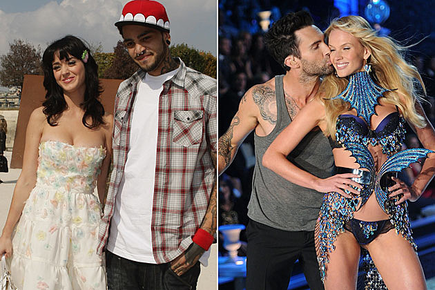 Katy Perry Travie McCoy Adam Levine Anne V