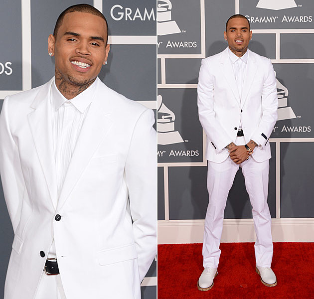 Chris Brown Grammys