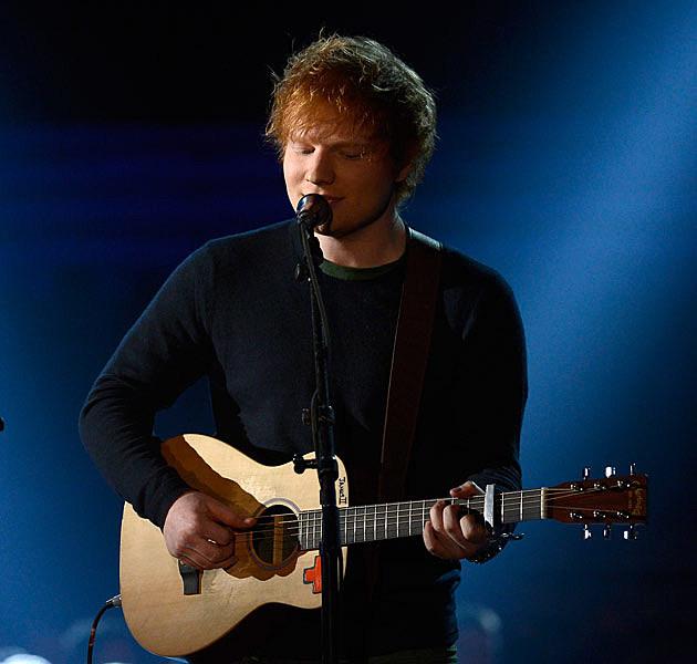 Ed Sheeran Grammys