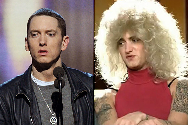 Eminem in Drag