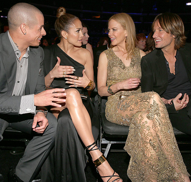 Casper Smart Jennifer Lopez Nicole Kidman Keith Urban