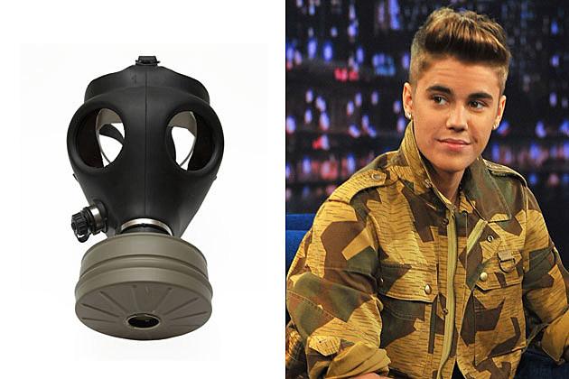 Gas Mask Justin Bieber