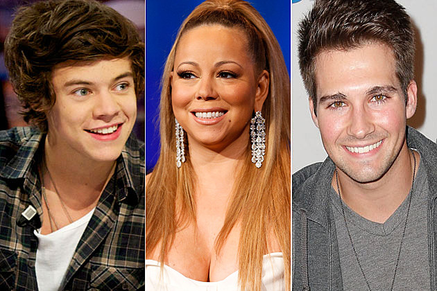 Harry Styles Mariah Carey James Maslow
