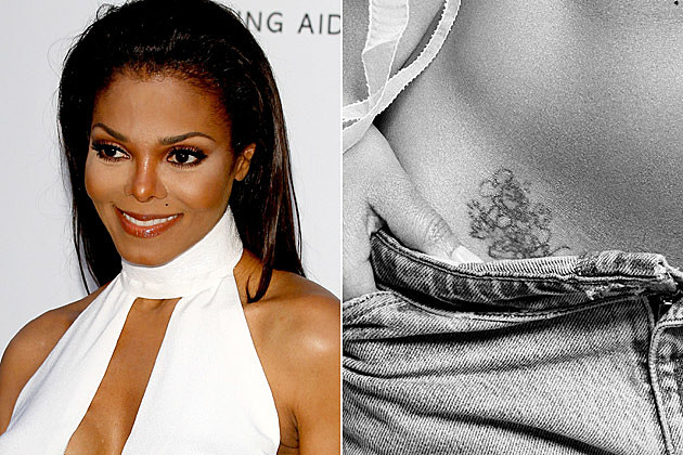 janet jackson bad celebrity tattoos