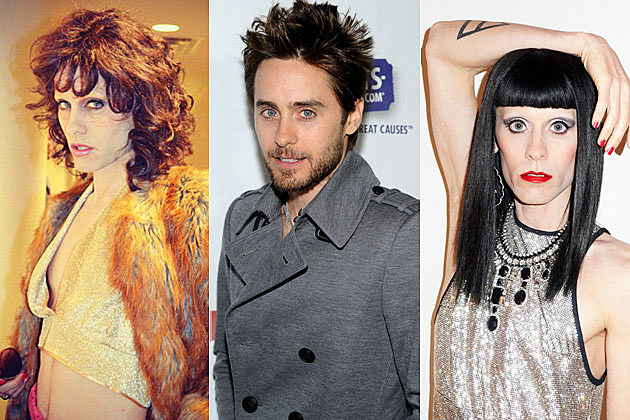 Jared Leto in Drag