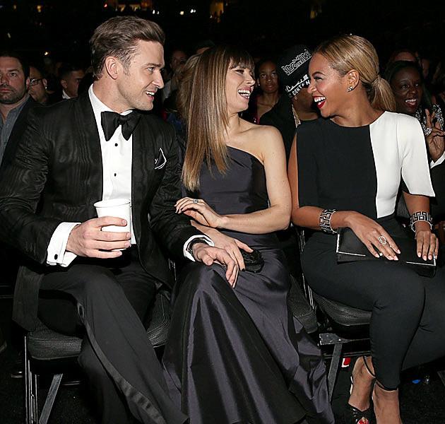 Justin Timberlake Jessica Biel Beyonce