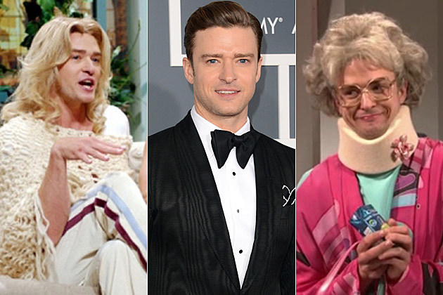 Justin Timberlake in Drag