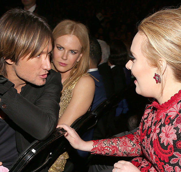 Keith Urban Nicole Kidman Adele