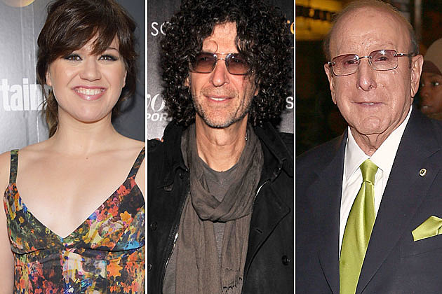 Kelly Clarkson Howard Stern Clive Davis