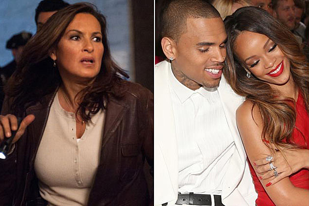 Law Order SVU Chris Brown Rihanna