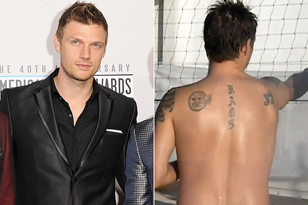 Nick Carter Bad Tattoo