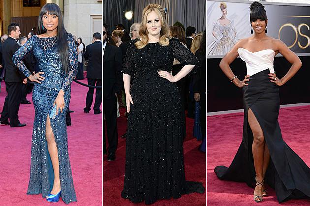 Jennifer Hudson Adele Kelly Rowland 2013 Oscars