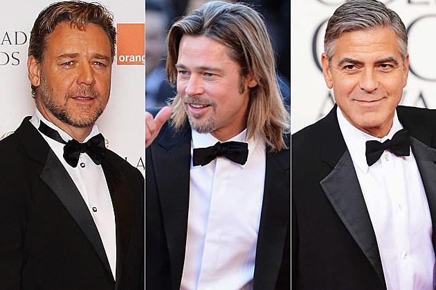 Russell Crowe Brad Pitt George Clooney